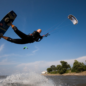 Kiteboarding Lessons at Bennett Beach